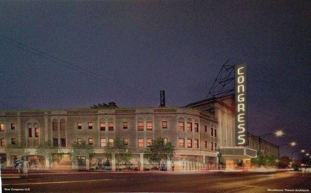 CONGRESS Theatre; Chicago, Illinois.