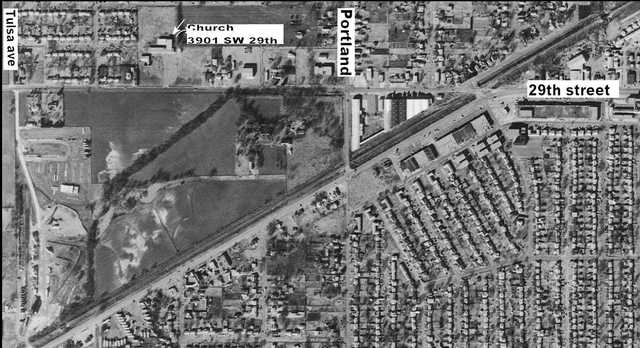 Aerial of 3900 block SW 29th