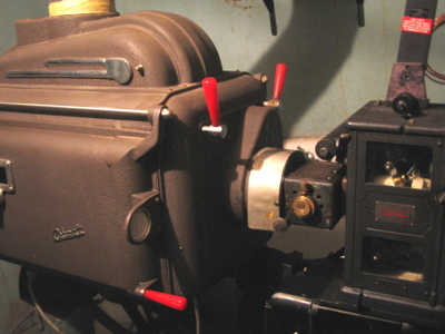 Gilchrist projection booth