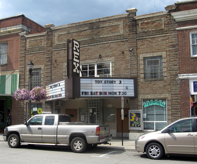 Rex Theatre, Bonners Ferry, ID -- 2010