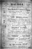 1928 Balboa Theater Program