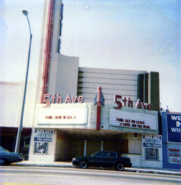 Fox 5th Avenue Theatre exterior