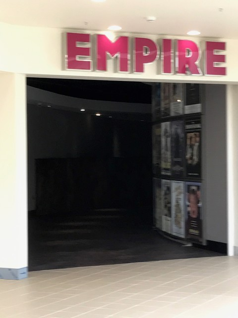 Entrance to the cinema