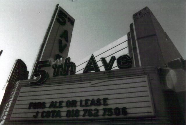 Fox 5th Avenue Theatre exterior