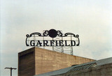 Garfield Theatre exterior Stagehouse Roof sign
