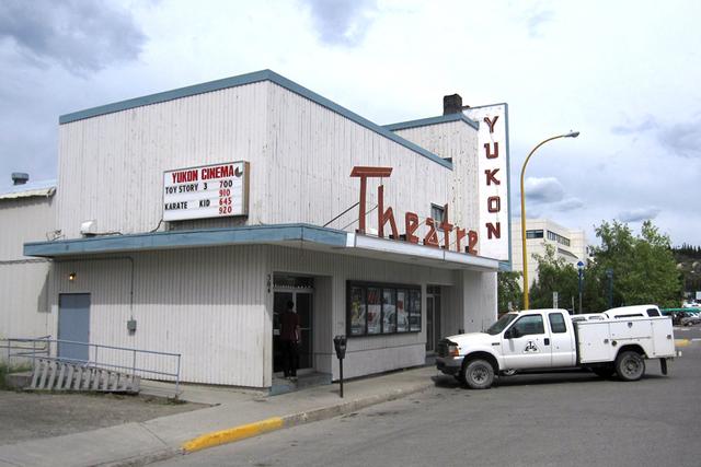 Yukon Cinema Centre, Whitehorse, Yukon -- 2010