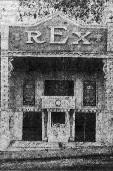 rex theatre in winstonsalem nc cinema treasures
