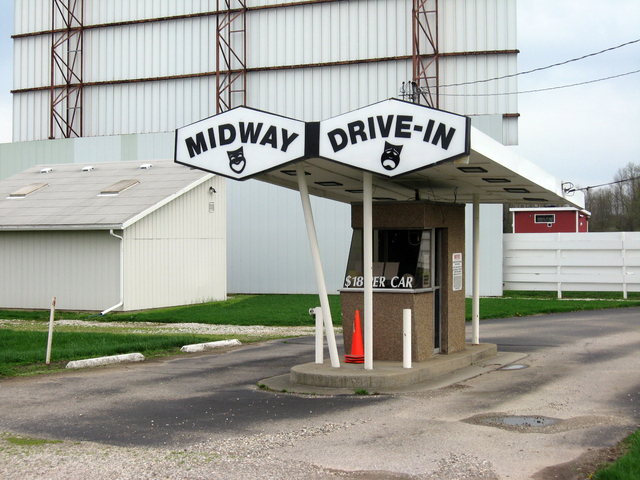 Mid-Way Twin Drive-In