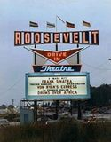 Roosevelt drive-In marquee 1965