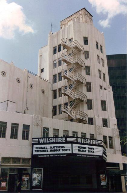 Fox Wilshire Theatre exterior