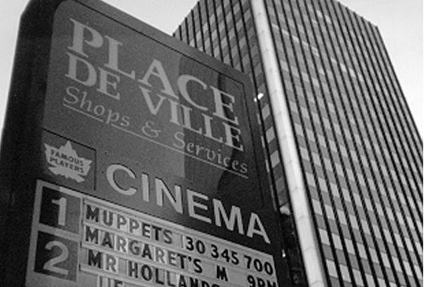 Place De Ville exterior, 1996