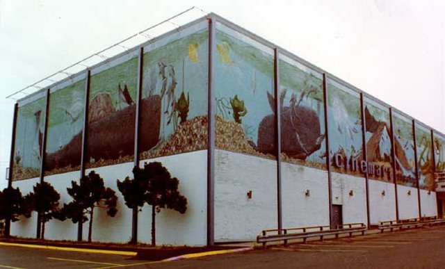 Cinemart Theater with Mural
