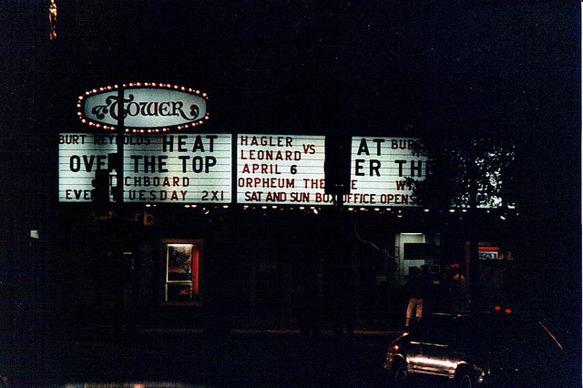 Metropolitan's Tower Theatre exterior