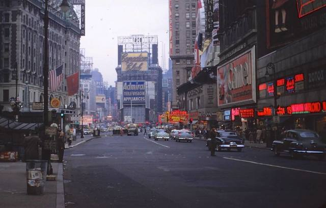 1955 photo courtesy of Al Ponte's Time Machine - New York Facebook page.