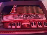 State Wayne 70th Anniversary Cake