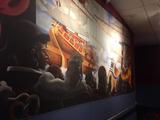 "State Wayne Lobby Mural - ""Pirate Adventure Films"""