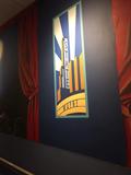 """State Wayne Mural - """"Theatre Profile Art"""""""