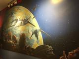 """State Wayne Mural - """"Films In Space"""""""