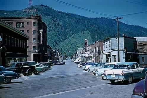 1955 photo courtesy of Mark MacDougal.