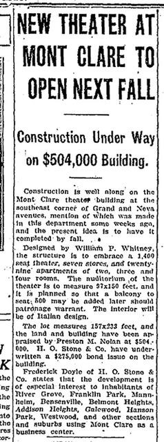 April 1, 1928 Chicago Tribune Article