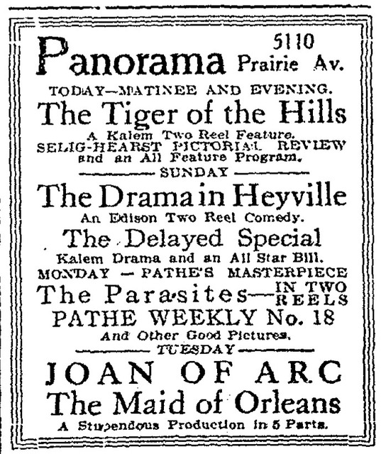 Panorama Theatre, Chicago, IL USA