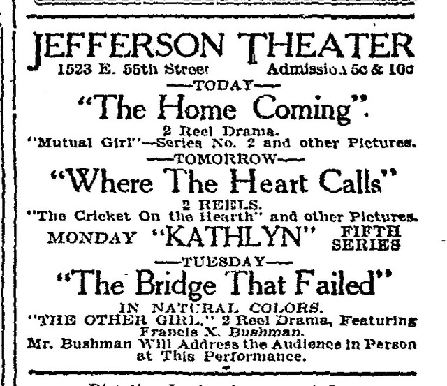 Jefferson Theater, Chicago, IL USA