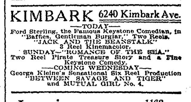 Kimbark Theatre, Chicago, IL USA