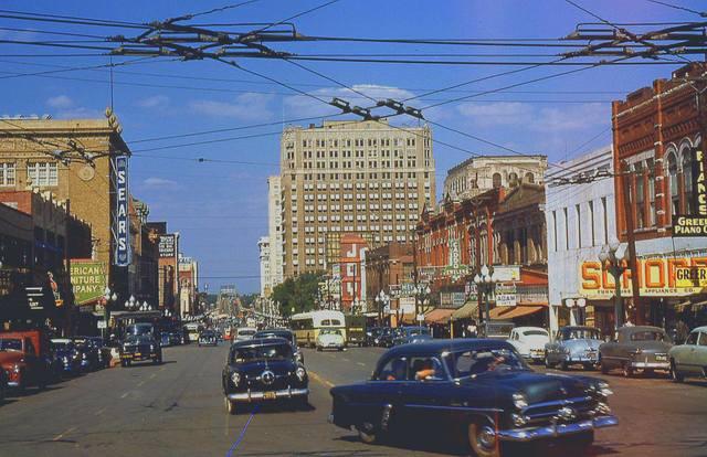 Circa 1952 photo courtesy of Bill Kelder.