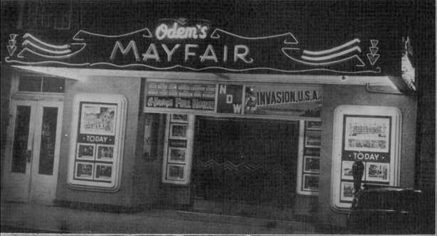 Mayfair Theater 1953