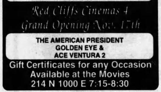 Washington Red Cliffs Cinemas