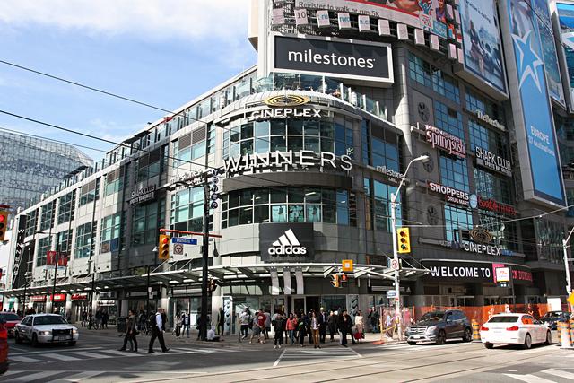 Cineplex Cinemas Yonge-Dundas, Toronto, Canada