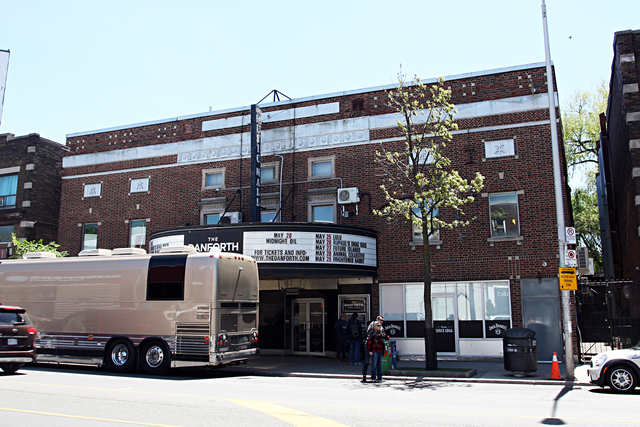 Danforth Music Hall Theatre, Toronto, Canada