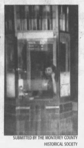 Ticket booth of the El-Rey Theater