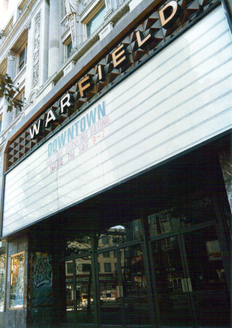 Warfield Theatre exterior