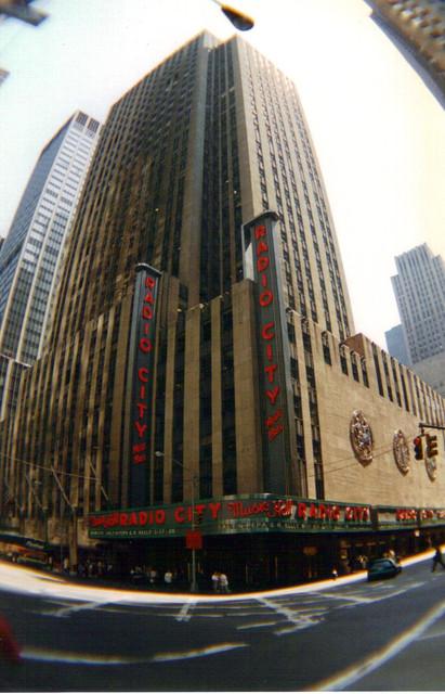 Radio City Music Hall Theatre exterior