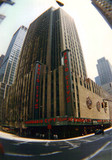 Radio City Music Hall Theatre exterior