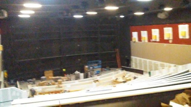 Dolby Cinema under construction