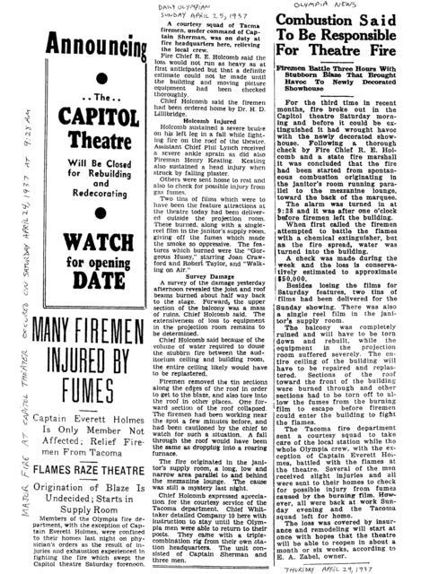 April 24 1937 fire
