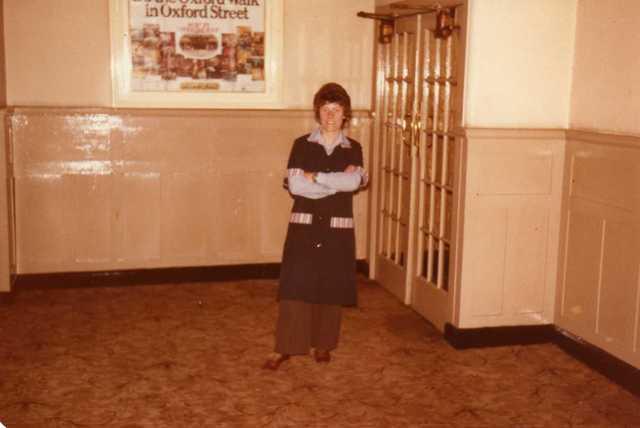 Jan in the Focus Cinema 1982