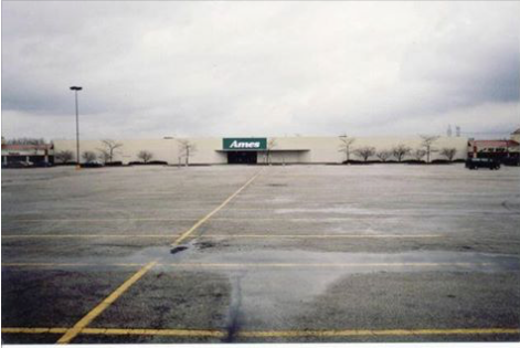 After the Sheridan Drive-In closed Ames and a few other stores were built there