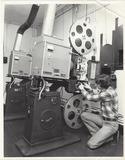 Cort Theatre Projection Room