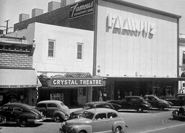 Crystal theatre in porterville ca cinema treasures for Galaxy 9 porterville