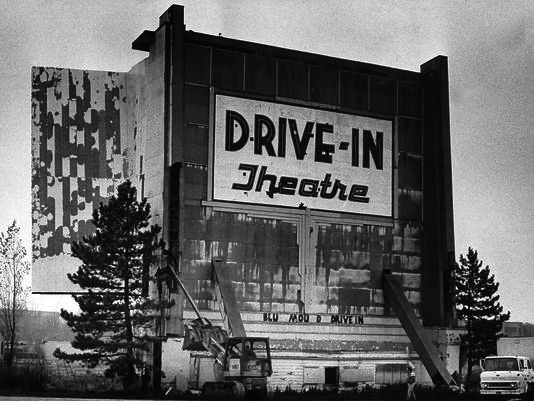 Bluemound screen tower final photo November 1983