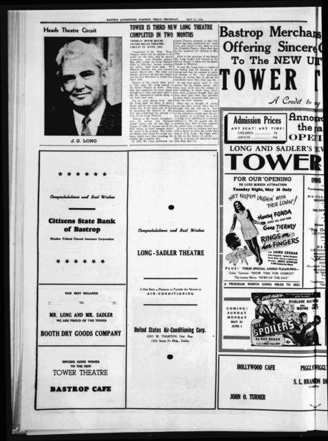 Tower Theatre Opening