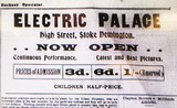 Electric Palace Stoke Newington opening ad Dec 1910