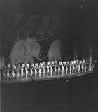 Gae Foster Roxyettes 1943 - NYC ROXY Theatre stage - Beachball routine