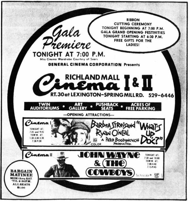 Richland Mall Cinema I-II-III