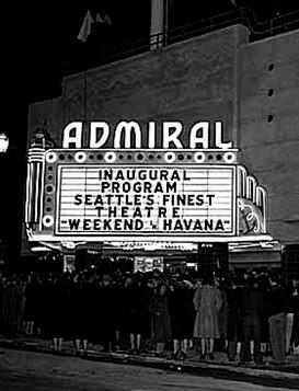 Admiral Theatre exterior