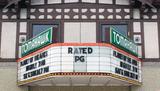 Tomahawk Cinema, Tomahawk, WI - marquee