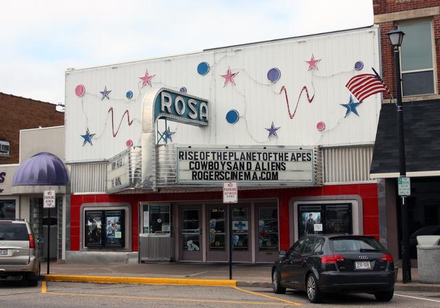 Rosa Theatre, Waupaca, WI